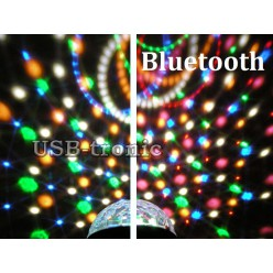 """Диско шар  """"Сфера BLUETOOTH"""" с MP3 плеером  (6 цветов) Без кнопок"""