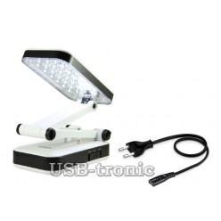Настольная складная лампа с 24 светодиодами LH-666