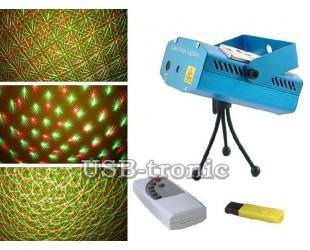 """Диско лазер с mp3 плеером """"Звездное небо"""" для домашней цветомузыки"""