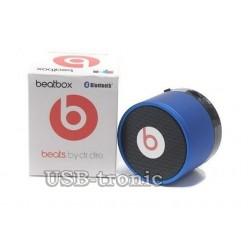 Мини колонка Beats Box с USB Синий