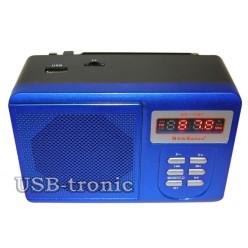 Радиоприемник с mp3 USB+TF New Kanon KN-11UBT - Синий