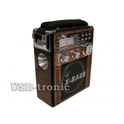 Портативный радиоприемник WAXIBA XB-1051 c радио и mp3 Природа