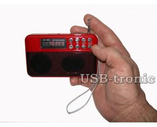 Mini радиоприемник c MP3
