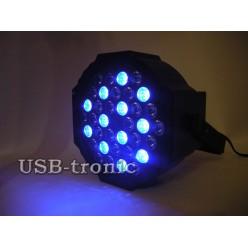 Стробоскоп цветной программируемый  36 LED