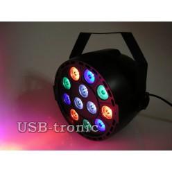 """Стробоскоп цветной программируемый """"Компакт 12 LED"""". НЕТ  В НАЛИЧИИ."""