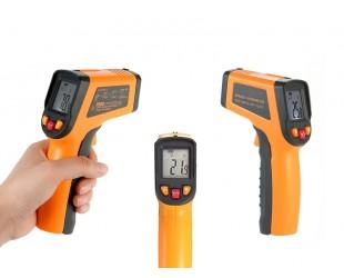 Инфракрасный термометр бесконтактный пирометр Infrared Thermometer 400-EN-01