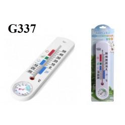 Термометр гигрометр бытовой G337 спиртовой