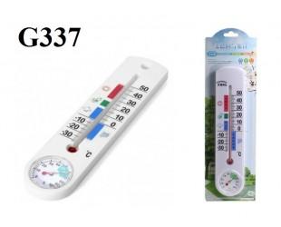Бытовой термометр-гигрометр спиртовой G337 для измерения температуры и влажности воздуха