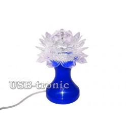 "Светодиодная диско лампа ""Цветок"" на подставке"