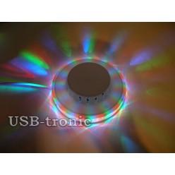Светодиодная диско лампа Огонек