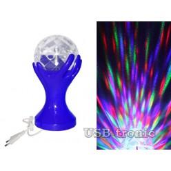 """Цветомузыкальная диско лампа """"SVET""""."""