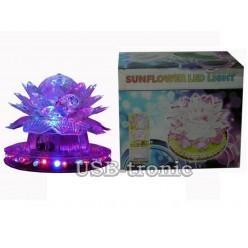 """Цветок диско лампа """"Лотос"""" Sunflower Led Light"""