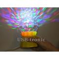 Мини диско лампа на подставке с проводом