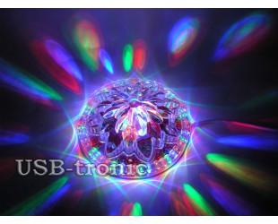 "Светодиодная диско лампа ""Sunflower Led Light"""