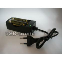 Зарядное устройство для 2-х литиевых аккумуляторов 18650