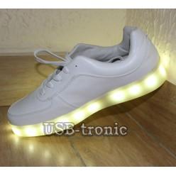 Детские светящиеся кроссовки 34 размер