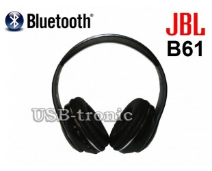 Беспроводные наушники JBL B61 Bluetooth, FM радио и MP3 плеер