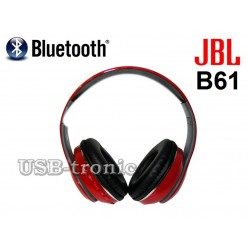 Беспроводные наушники Bluetooth JBL B61 Красные