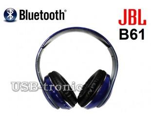 Беспроводные Bluetooth наушники JBL B61 с FM радио и MP3 плеером