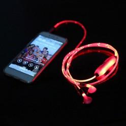 Наушники с LED подсветкой Red