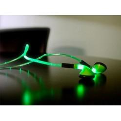 Наушники с LED подсветкой Green