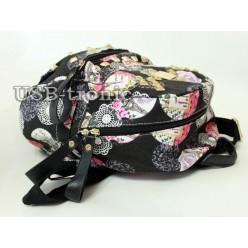 Женский рюкзак текстильный