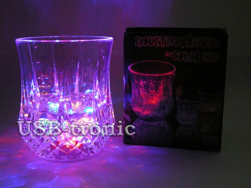 Светящийся стакан с подсветкой.