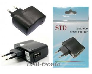 Aдаптер сетевой для магнитолы USB