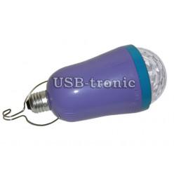 Лампа цветомузыка с mp3 и с аккумулятором