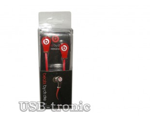 Мини наушники Monster Beats Tour Red