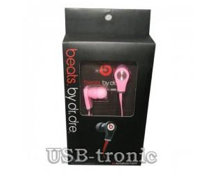 Наушники Monster Beats Tour розовые для девочки