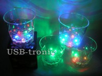 Светящиеся стаканы - набор из 4 шт. за 999 руб.
