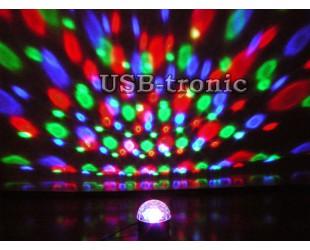 Цветомузыка LED Magic Ball Light программируемая 05 для домашней дискотеки