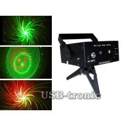 """Лазер с MP3 плеером и USB магнитолой LSS-M02 """"Орбита"""""""