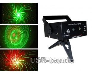 """Лазерный проектор с MP3 плеером и USB магнитолой """"Орбита"""" LSS-M02 / AB-0007U"""