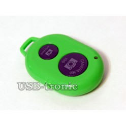 Монопод для селфи с пультом - зеленый