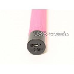 Штатив для селфи с Bluetooth - розовый