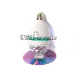 Акция! Светодиодная цветомузыка диско лампа