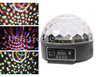 Программируемая светодиодная цветомузыка диско шар Led Magic Ball