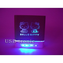 Портативная колонка Hello Kitty с USB и Вluetooth KH-105 Red