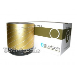Динамик  колонка с USB и Вluetooth Gold
