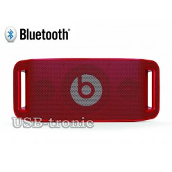 Колонка Beats Portable Bluetooth mp3 USB SD Красная