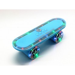Колонка Scooter Speaker BT-03L LED с mp3 Neon