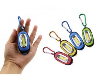 Мини фонарик брелок для ключей Цена 59 рублей