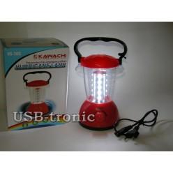 Кемпинговый светодиодный фонарь Kawachi KS-785 20 led на аккумуляторе Красный