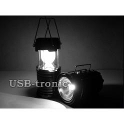 Кемпинговый светодиодный фонарь 6 LED SL-5800T Складной корпус 13х9 см Бронза