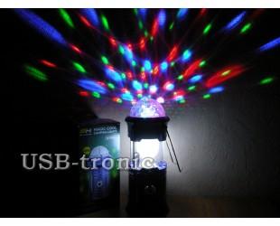 Кемпинговый светодиодный фонарь Magic Cool SH-5801 Color Led Складной корпус