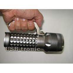 Ручной аккумуляторный фонарь мощный прожектор MX-1820-T6 Мощный светодиод Cree T6  3 x 18560