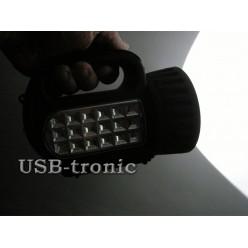 Ручной аккумуляторный светодиодный фонарь SS-5805 LED