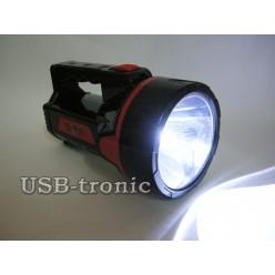 Ручной светодиодный фонарь HG-9928 на аккумуляторе с зарядкой